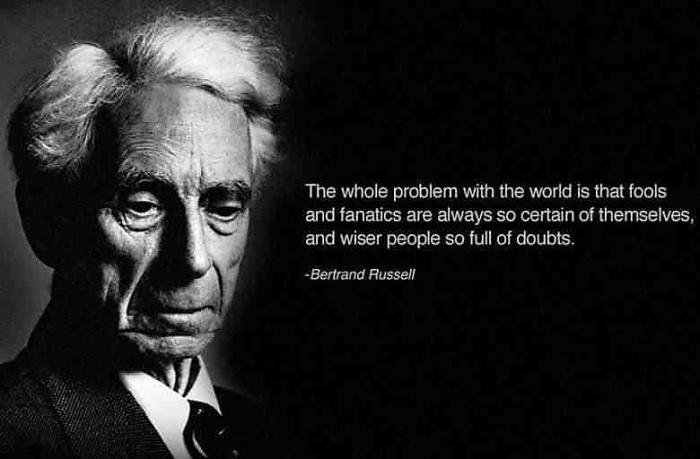 QOTD - Bertrand Russell